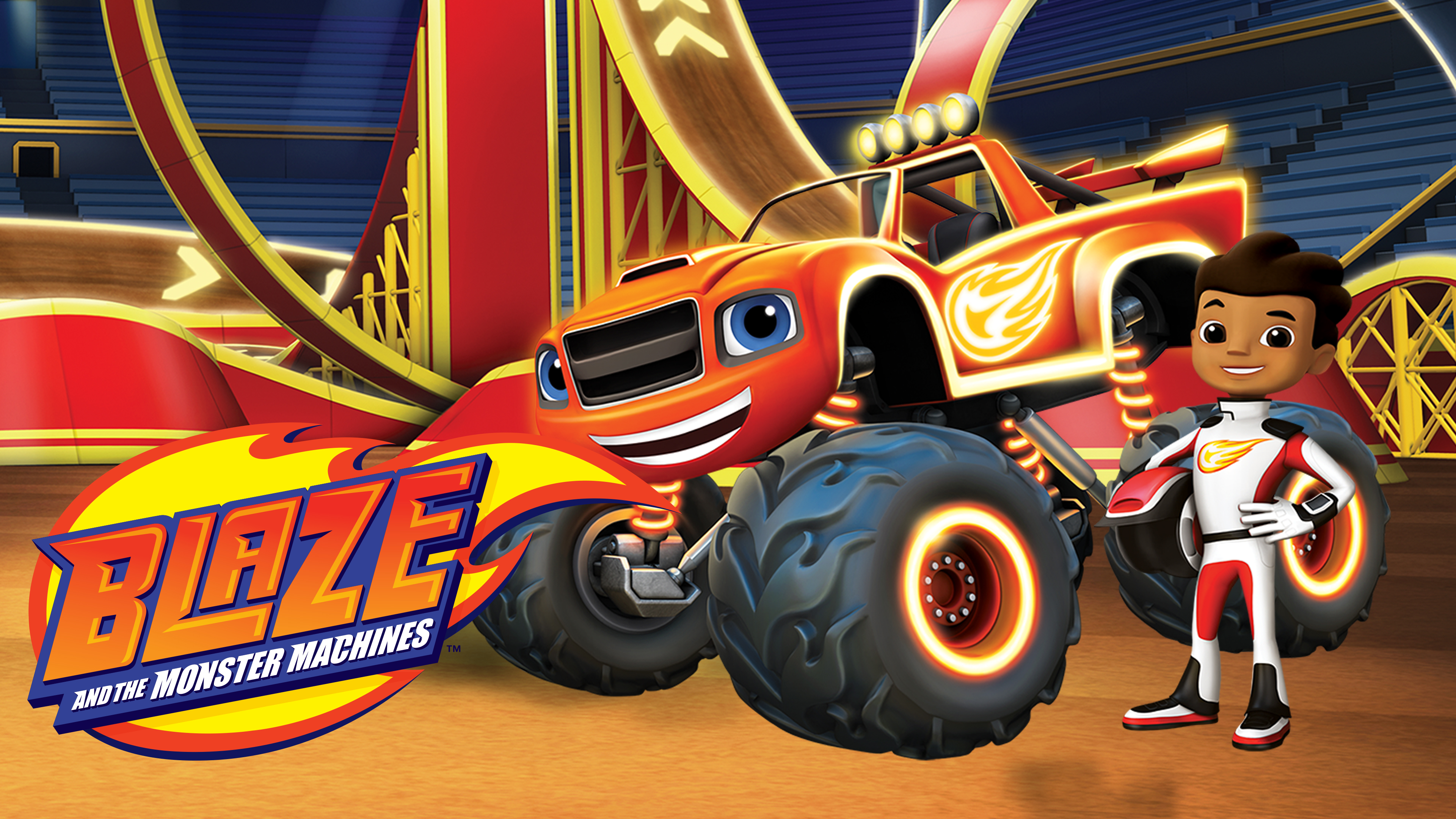 Hulu『Blaze and the Monster Machines』